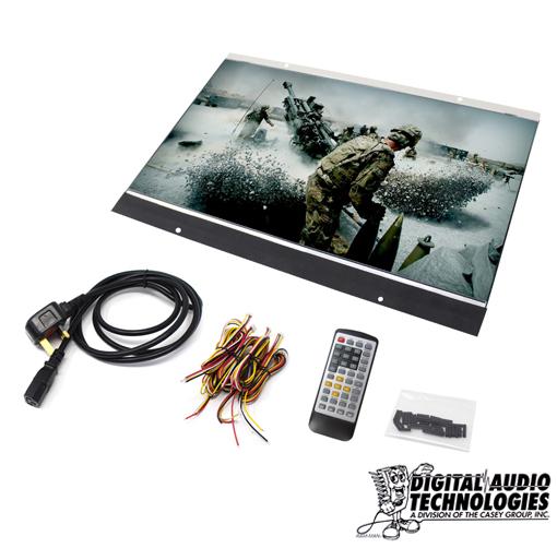 HD 15″ Open Frame Video Screen & Media Player   Digital Audio ...