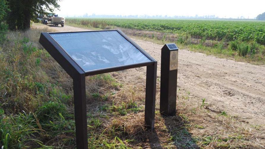 Solar-Audio-Post-at-Rohwer-Relocation-Centre-Arkansas