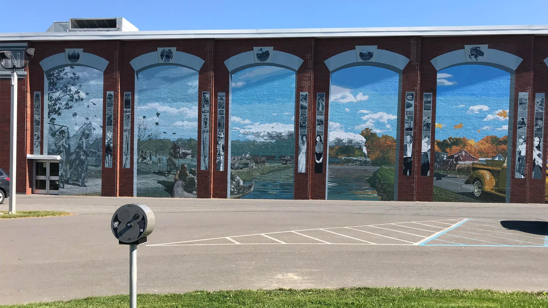 Outdoor Audio Warrior Run High School
